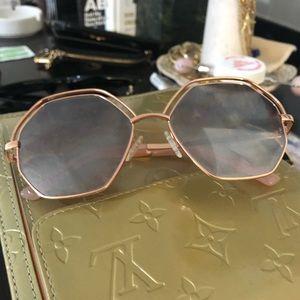 Accessories - vintage hexagonal shades